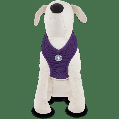 Good2Go Plum Mesh Dog Harness