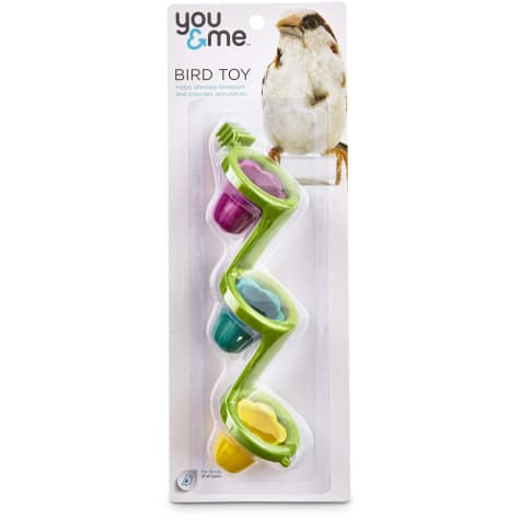 You & Me Seed Cup Ladder Bird Toy