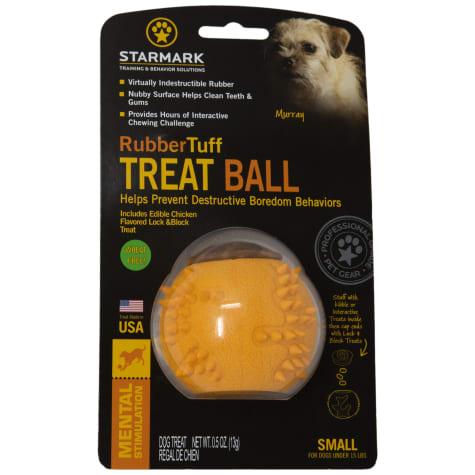 Starmark Rubber Tuff Ball