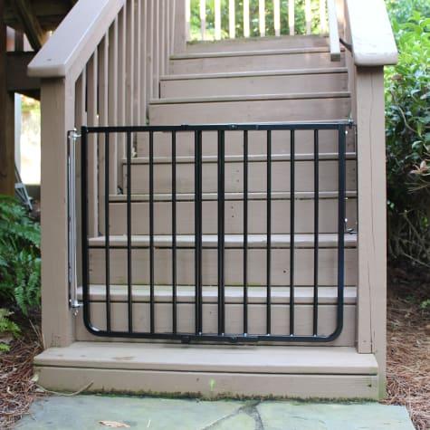 Cardinal Gates Outdoor Safety Gate Black