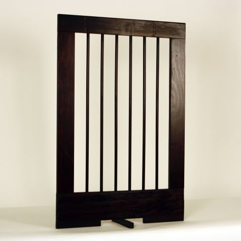 Cardinal Gates Extension for 4-Panel Pet Gate, Walnut