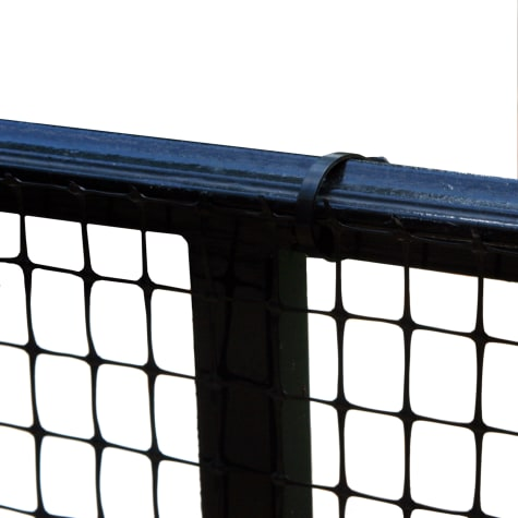 Cardinal Gates Heavy-Duty Outdoor Deck Netting, Black
