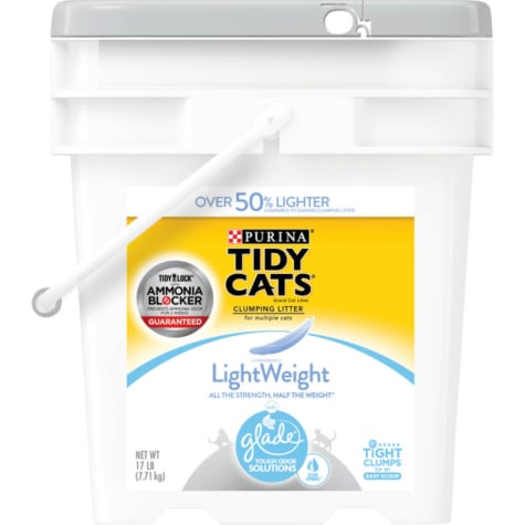 Purina Tidy Cats LightWeight Glade Clear Springs Dust Free Clumping Mulit Cat Litter