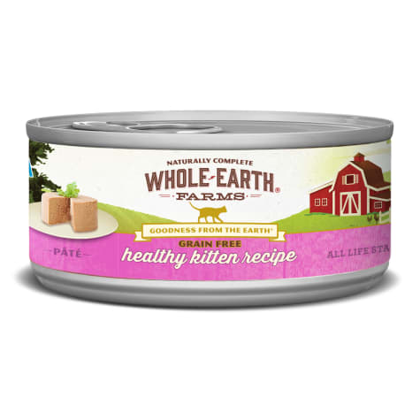 Whole Earth Farms Grain Free Real Healthy Kitten Recipe Wet Cat Food