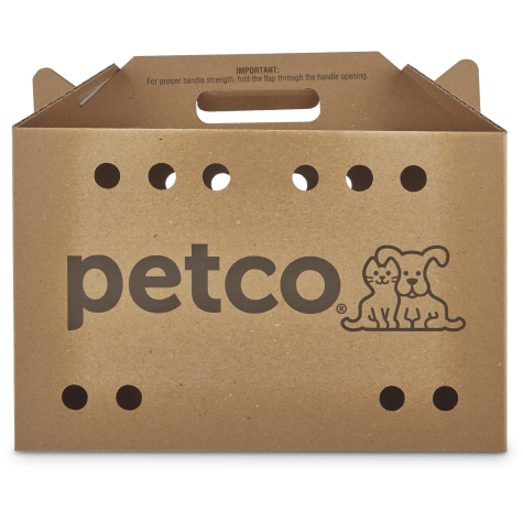 Petco Cardboard Cat Carrier