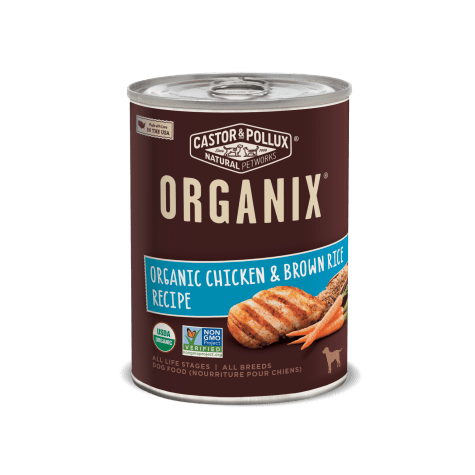 Castor & Pollux Organix Organic Chicken & Brown Rice Recipe Wet Dog Food