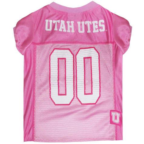 Pets First Utah Utes Pink Jersey