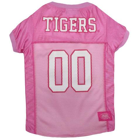 Pets First Auburn Tigers Pink Jersey