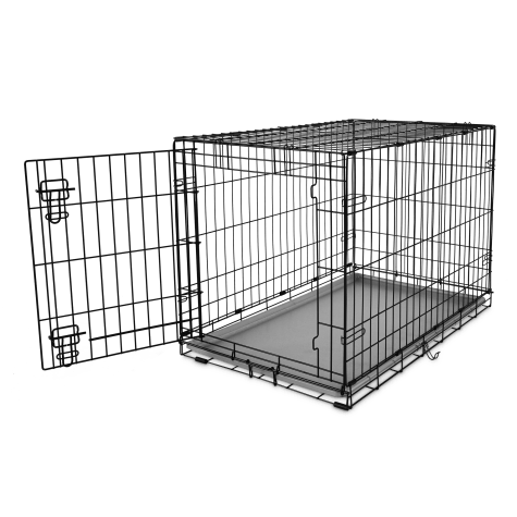 You & Me 1-Door Folding Dog Crate