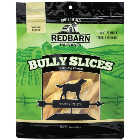 Redbarn Vanilla Bully Slices Dog Chews