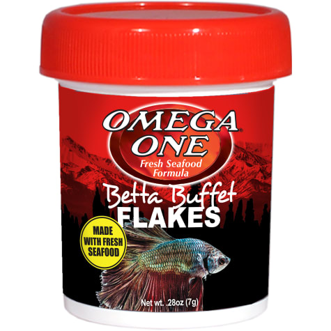 Omega One Betta Buffet Flakes Fish Food