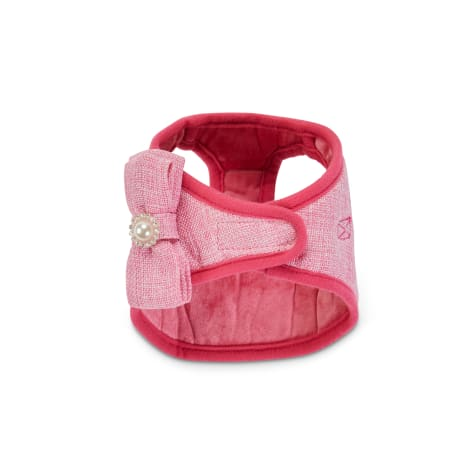 Bond & Co. Pink Bow Small Dog Harness