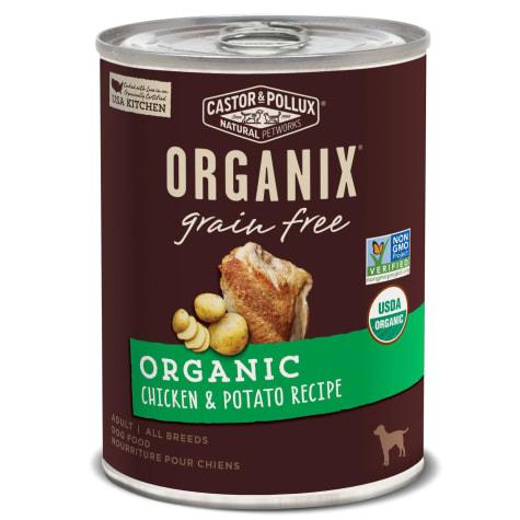 Castor & Pollux Organix Grain Free Organic Chicken & Potato Recipe Wet Dog Food
