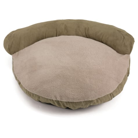 Dallas Manufacturing Green Faux Suede Couch Bed