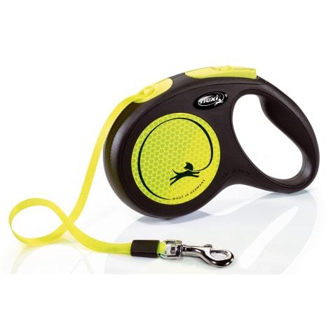 Flexi New Neon Reflective Retractable 16' Tape Leash
