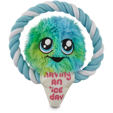 Leaps & Bounds Punny Snow Cone Rope Dog Toy