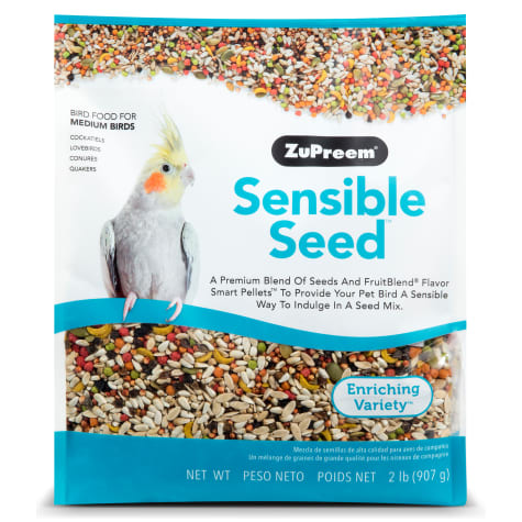 ZuPreem Sensible Seed Bird Food for Medium Birds, 2 lbs.