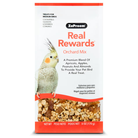 ZuPreem Real Rewards Orchard Mix Treats for Medium Birds