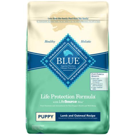Blue Buffalo Blue Life Protection Formula Puppy Lamb & Oatmeal Recipe Dry Dog Food