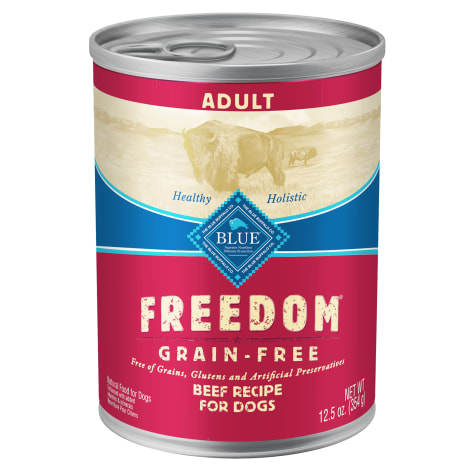 Blue Buffalo Blue Freedom Grain-Free Beef Recipe Adult Canned Dog Food
