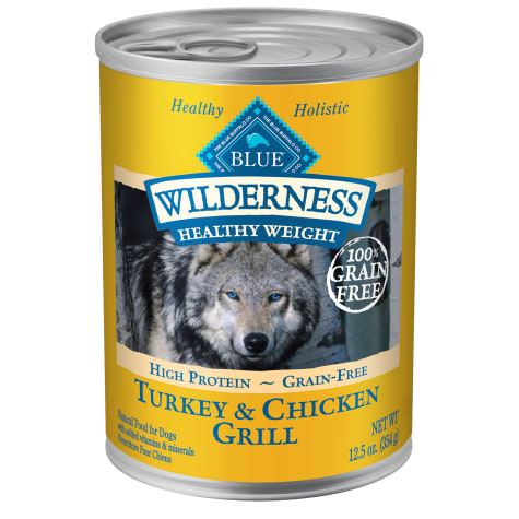 Blue Buffalo Blue Wilderness Healthy Weight Turkey & Chicken Grill Adult Wet Dog Food