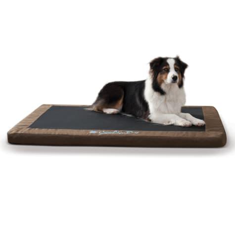 K&H Brown Comfy N' Dry Indoor/Outdoor Orthopedic Dog Bed