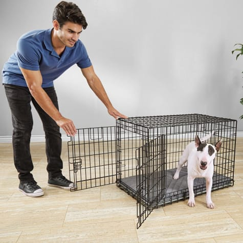 You & Me Ultra Tough 2-Door Folding Dog Crate