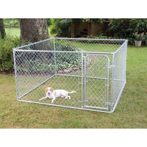 FenceMaster Do It Yourself Chain-Link Kennel