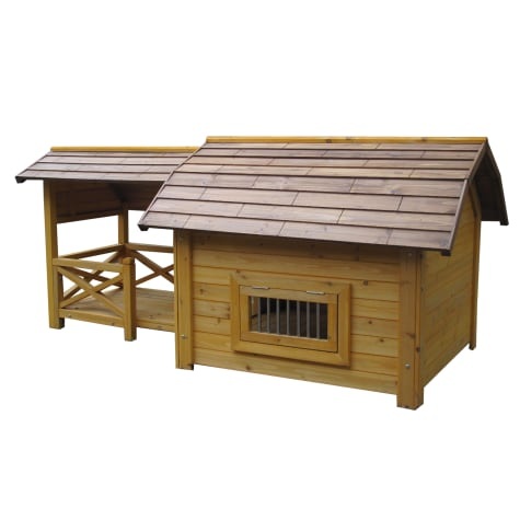 Houses & Paws Wooded Lux Pet House