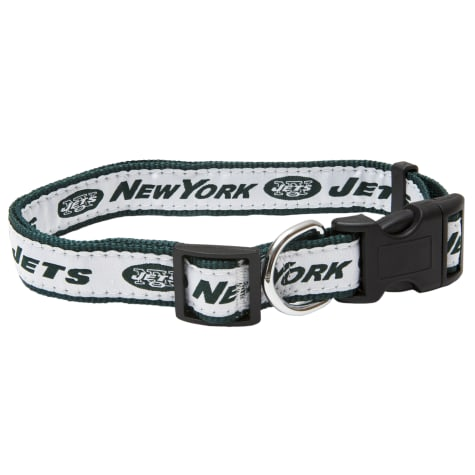 Pets First New York Jets Collar For Dogs For Dogs