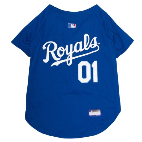 Pets First MLB Kansas City Royals Jersey for Dogs