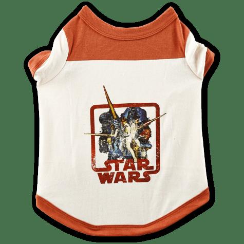 STAR WARS Vintage Dog T-Shirt