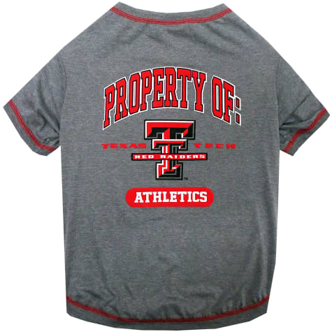 Pets First Texas Tech Raiders Dog T-Shirt