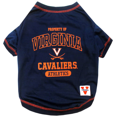 Pets First Virginia Cavaliers Dog T-Shirt