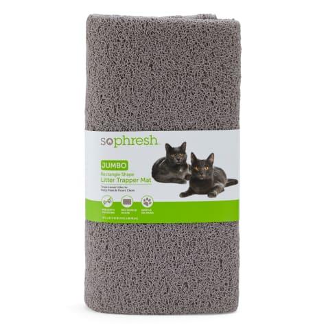 So Phresh Rectangle Shape Cat Litter Trapper Mat