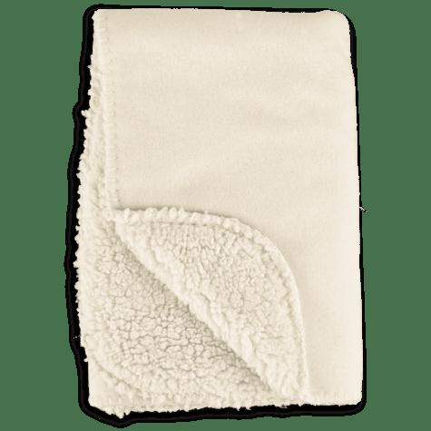 Harmony Cozy Sherpa Pet Throw in Cream