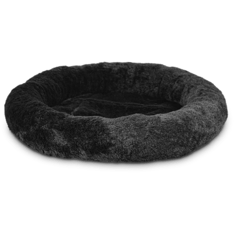 Harmony Oval Cat Bed in Black