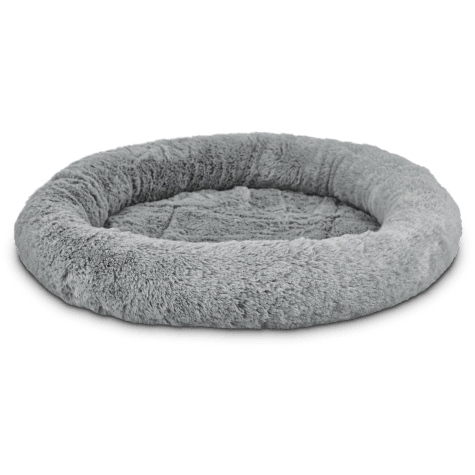 Harmony Oval Cat Bed in Grey