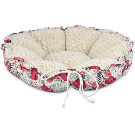 Harmony Floral Cat Bed