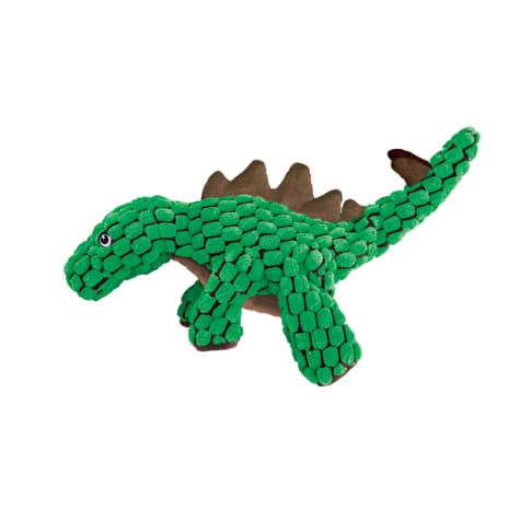 KONG Dynos Stegosaurus Green Dog Toy