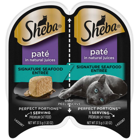 Sheba Perfect Portions Signature Seafood Entree Wet Cat Food