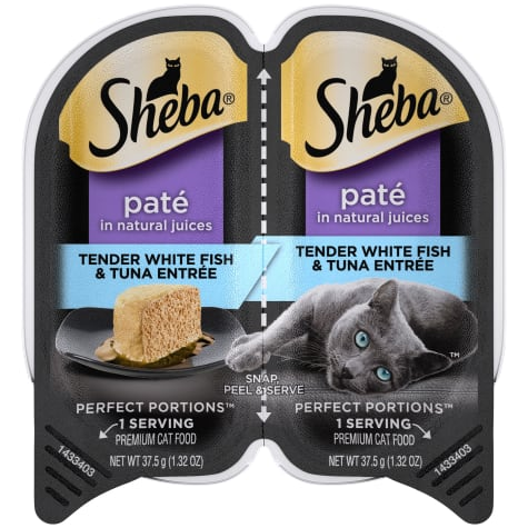 Sheba Perfect Portions Tender Whitefish and Tuna Entree Wet Cat Food