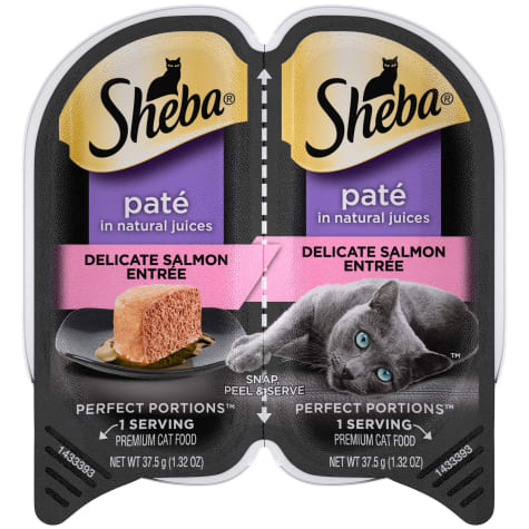 Sheba Perfect Portions Delicate Salmon Entree Wet Cat Food