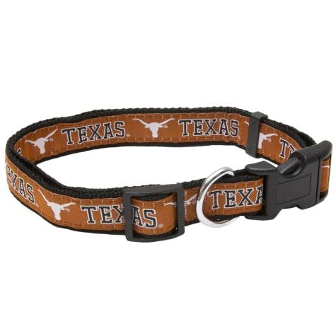 Pets First Texas Longhorns Collar