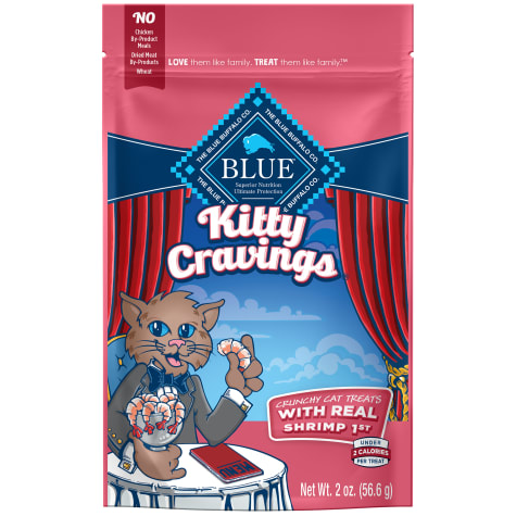 Blue Buffalo Kitty Cravings Shrimp Flavor Cat Treats