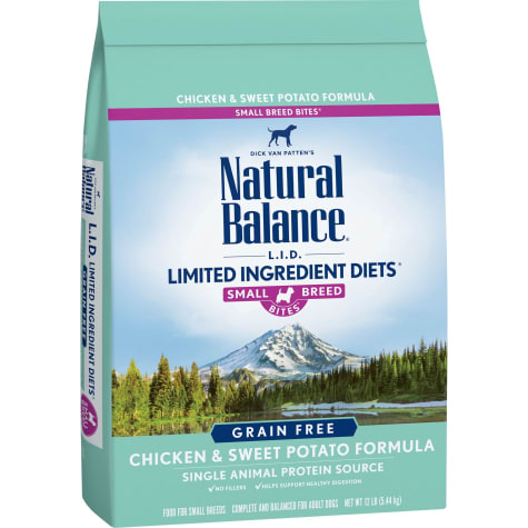 Natural Balance Limited Ingredient Diets Grain Free Small Breeds Chicken & Sweet Potato Formula Dry Dog Food