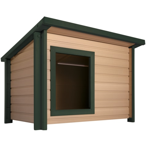 New Age Pet Rustic Lodge Dog House