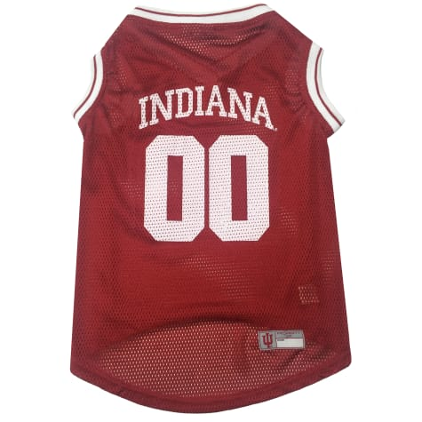 Pets First Indiana Hoosiers NCAA Mesh Jersey For Dogs