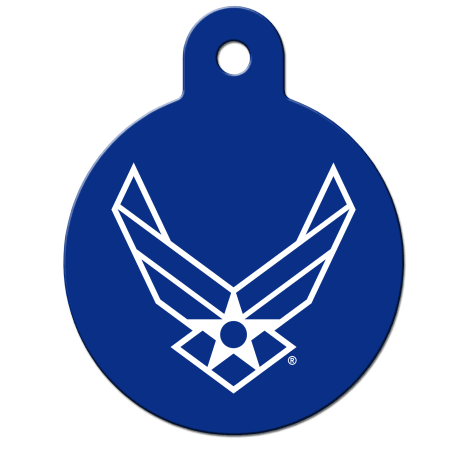 Fido Armed Forces Air Force ID Tag