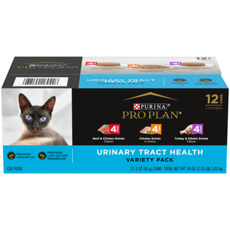 Purina Pro Plan Focus Classic Urinary Tract Health Formula Adult Wet Cat Food Variety Pack